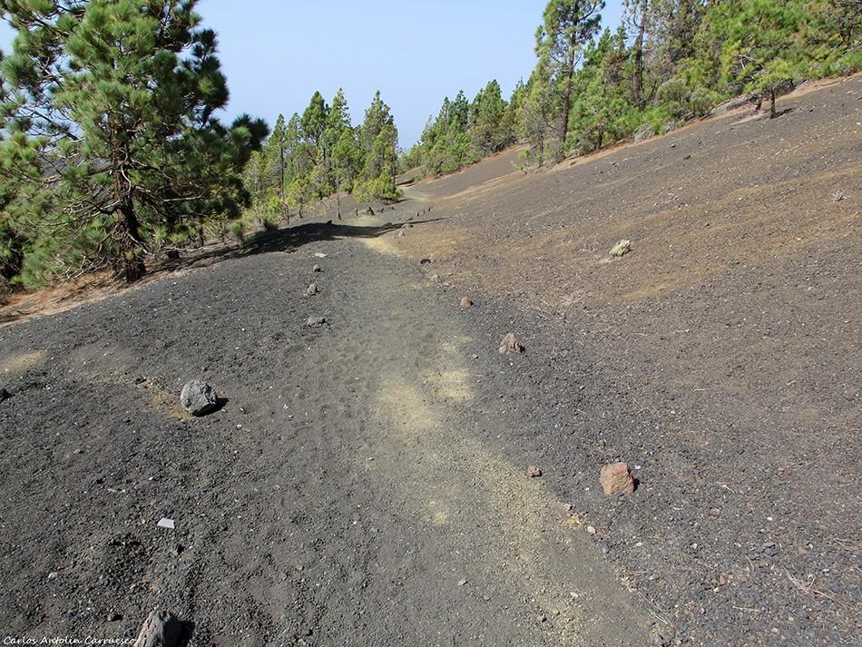 GR131 - Paisaje Lunar negro - Tenerife