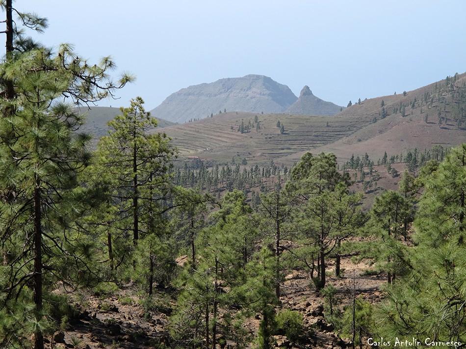 Vilaflor - GR131 - Tenerife - roque del conde - roque imoque