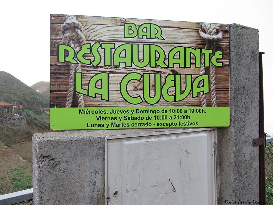 Chinamada - Anaga - Tenerife - bar - restaurante - la cueva