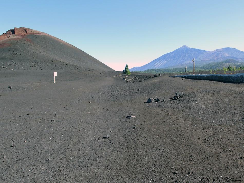 Volcán de Garachico - Tenerife - Teide - canal de Vergara - pico viejo