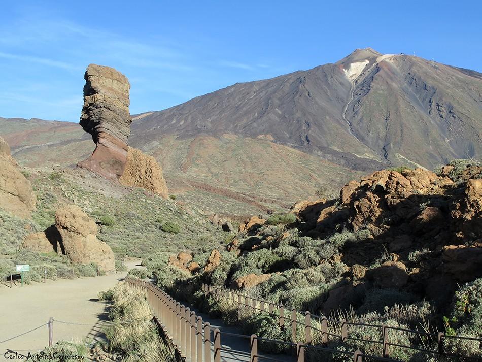 Roques de García - Parque Nacional del Teide - Tenerife - Roque Cinchado - teide