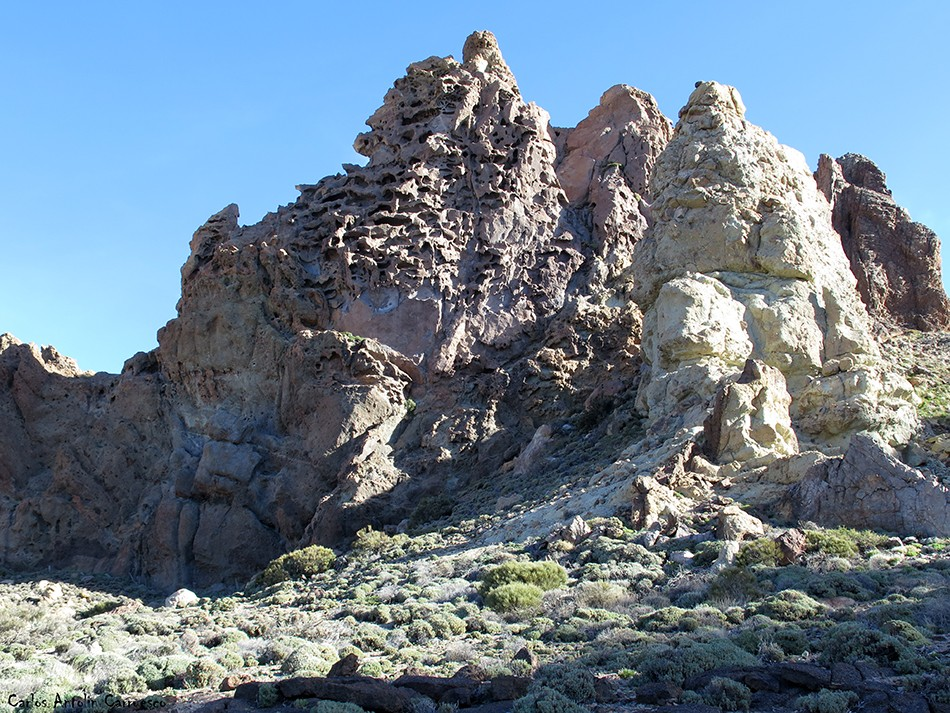 Roques de García - Teide - Tenerife - Valle de Ucanca