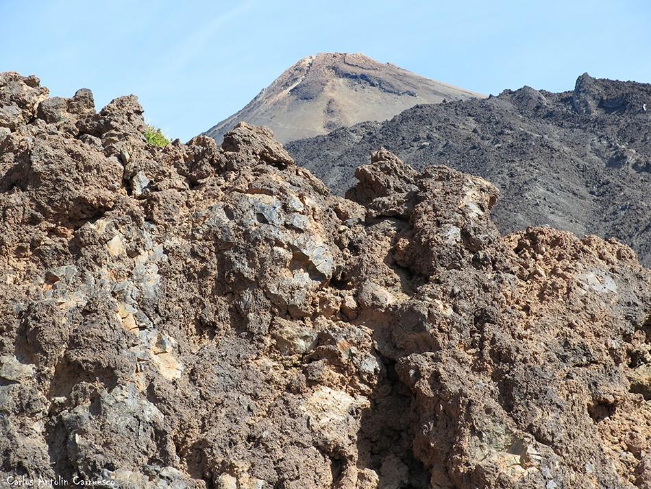Regatones Negros - Ultra Bluetrail - Tenerife - Parque Nacional del Teide - sendero Nº 23 - teide