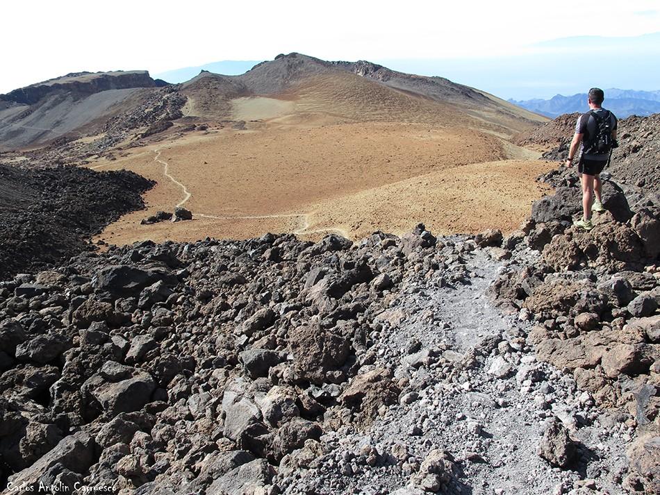 Sendero Nº9 - Parque Nacional del Teide - Tenerife - ultra bluetrail - bluetrail