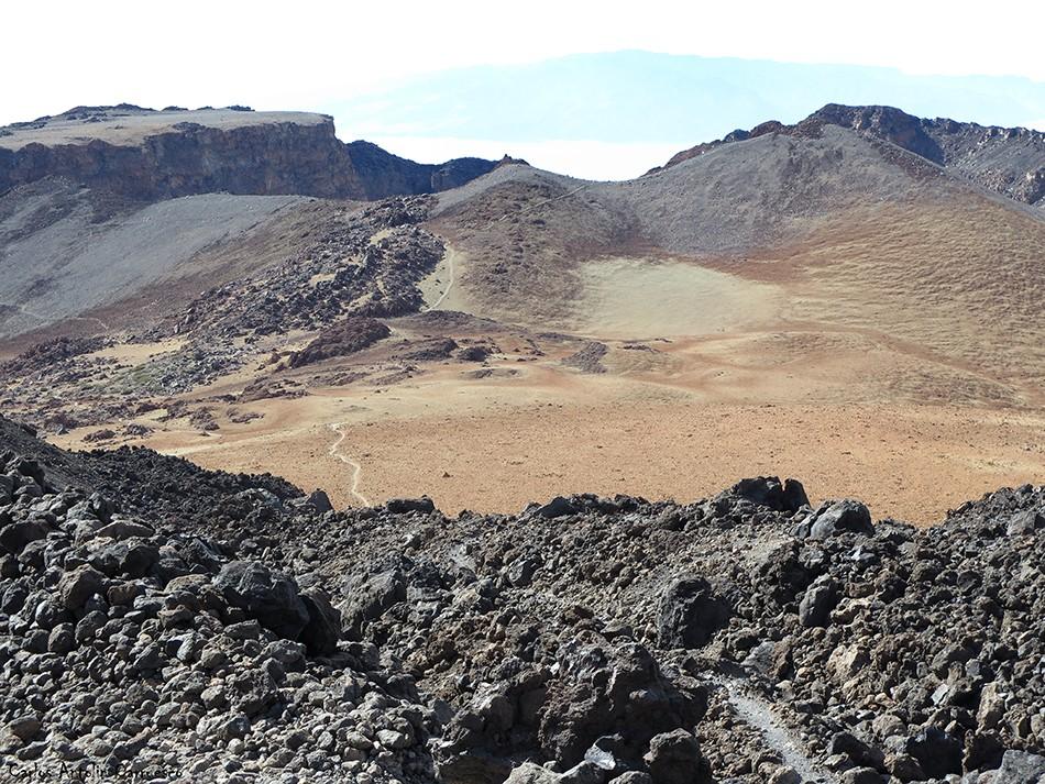 Sendero Nº9 - Parque Nacional del Teide - Tenerife - pico viejo - ultra bluetrail