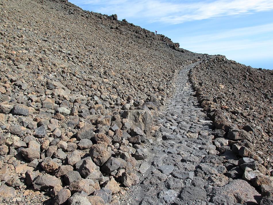 Parque Nacional del Teide - sendero Nº11 - Tenerife