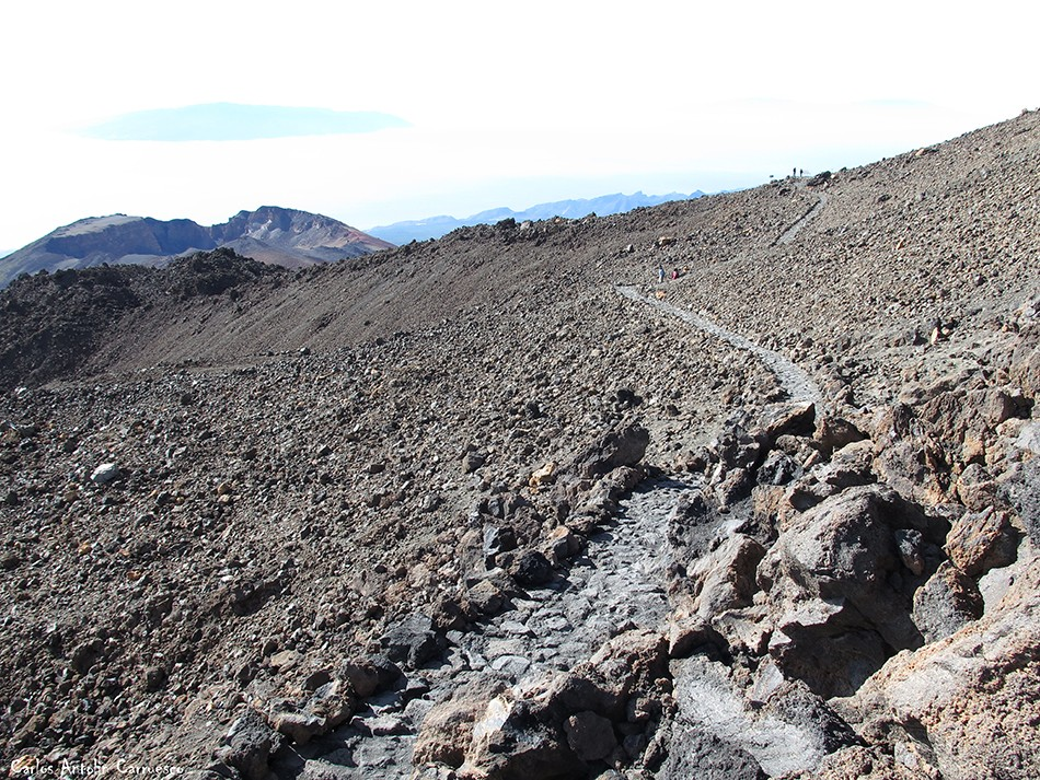 Pico Viejo - sendero Nº11 - Tenerife