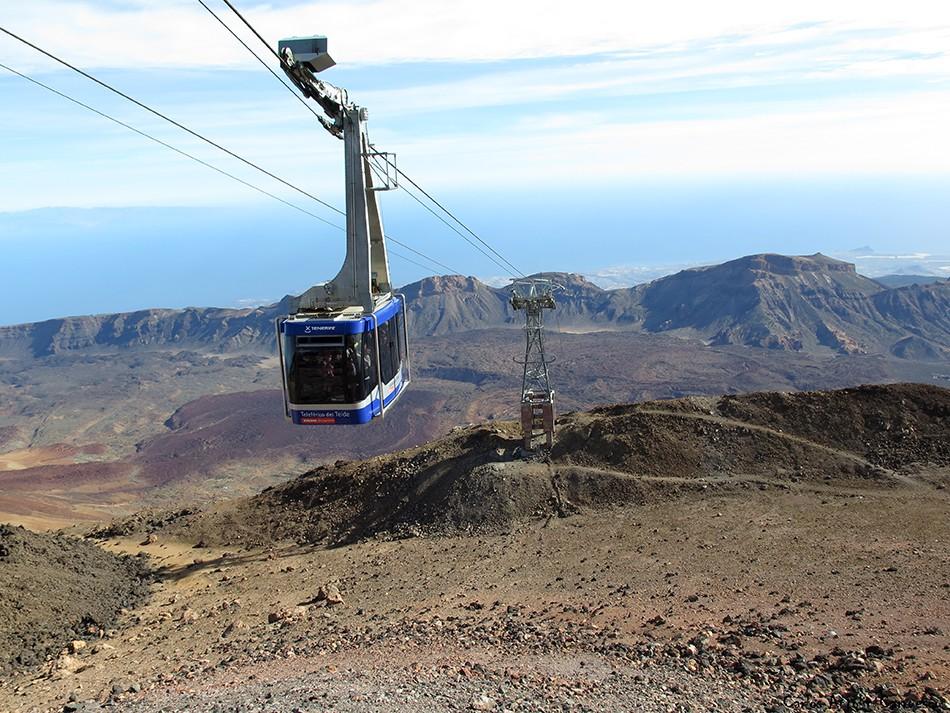 La Rambleta - Teleférico del Teide - Tenerife - Teide