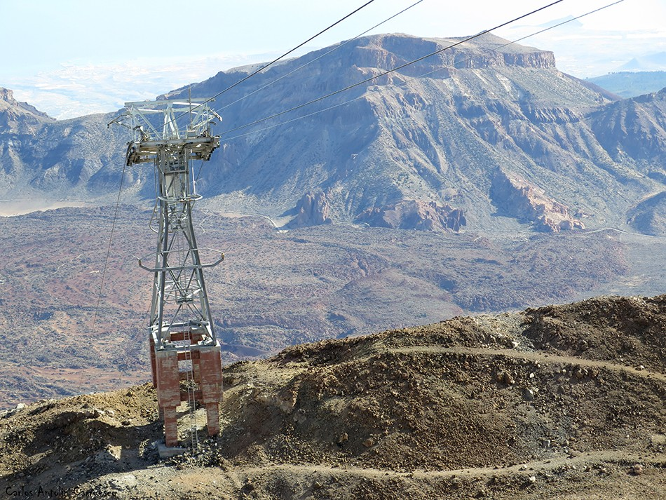 Teleférico del Teide - El Guajara - Tenerife - La Rambleta (3.555 metros de altitud)
