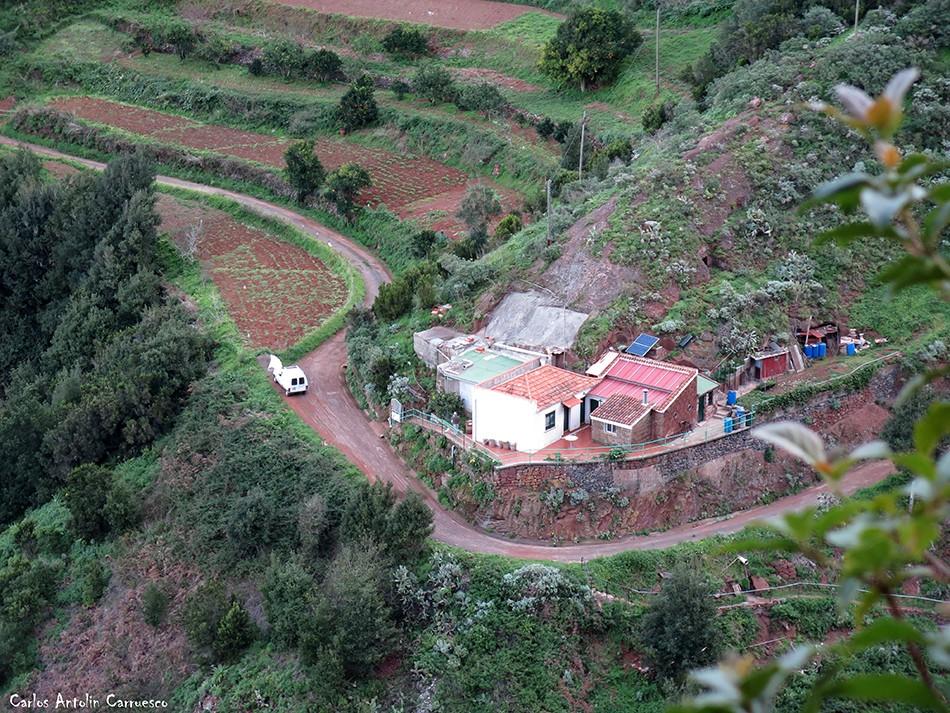 Anaga - Pista Los Dragos - Tenerife