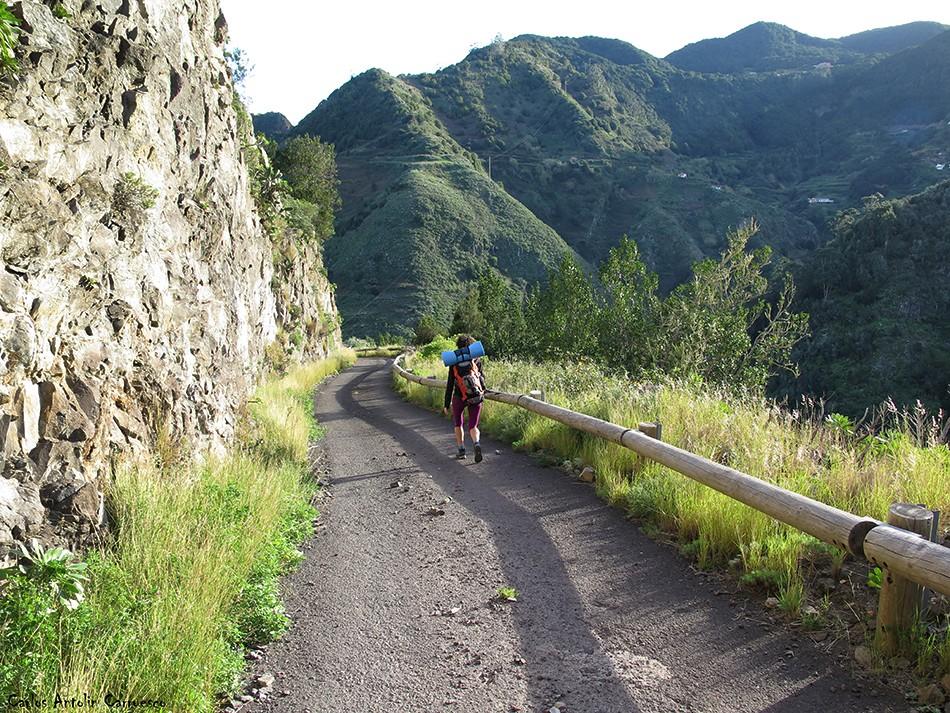 Pista Los Dragos - Anaga - Tenerife