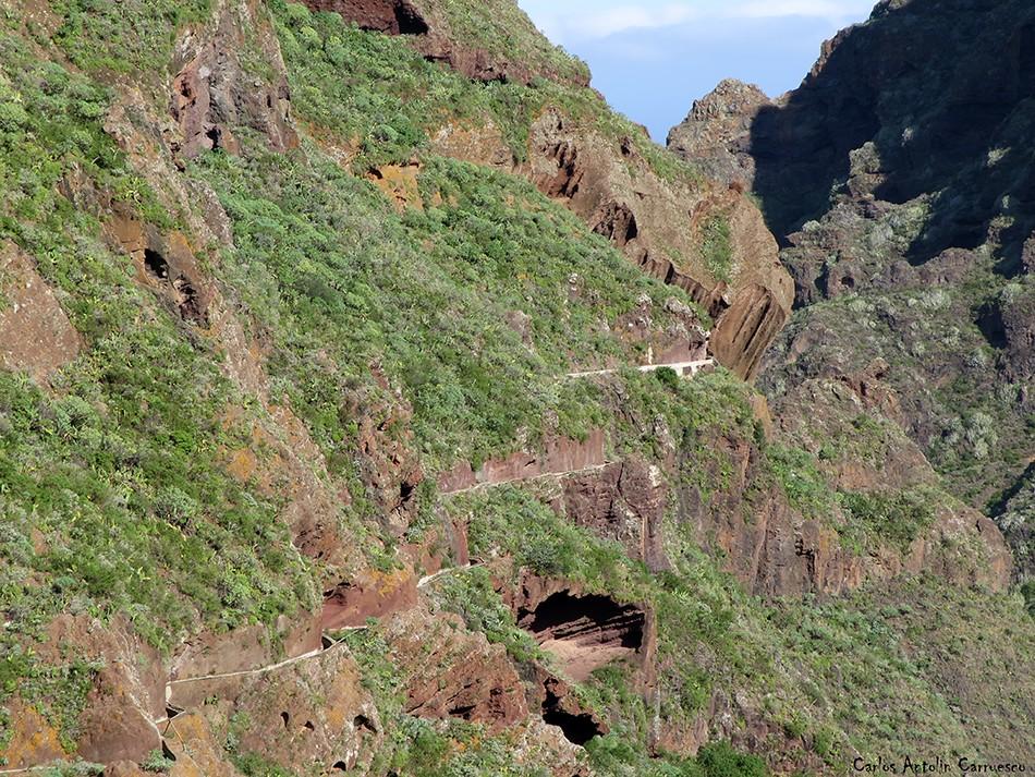 Bejía - Anaga - Tenerife - canal de bejía - atarjea - tajea