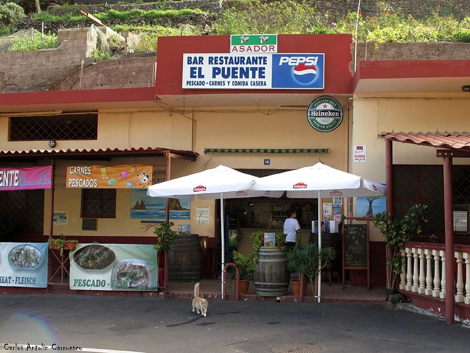 Taganana - Anaga - Tenerife - Bar Restaurante El Puente