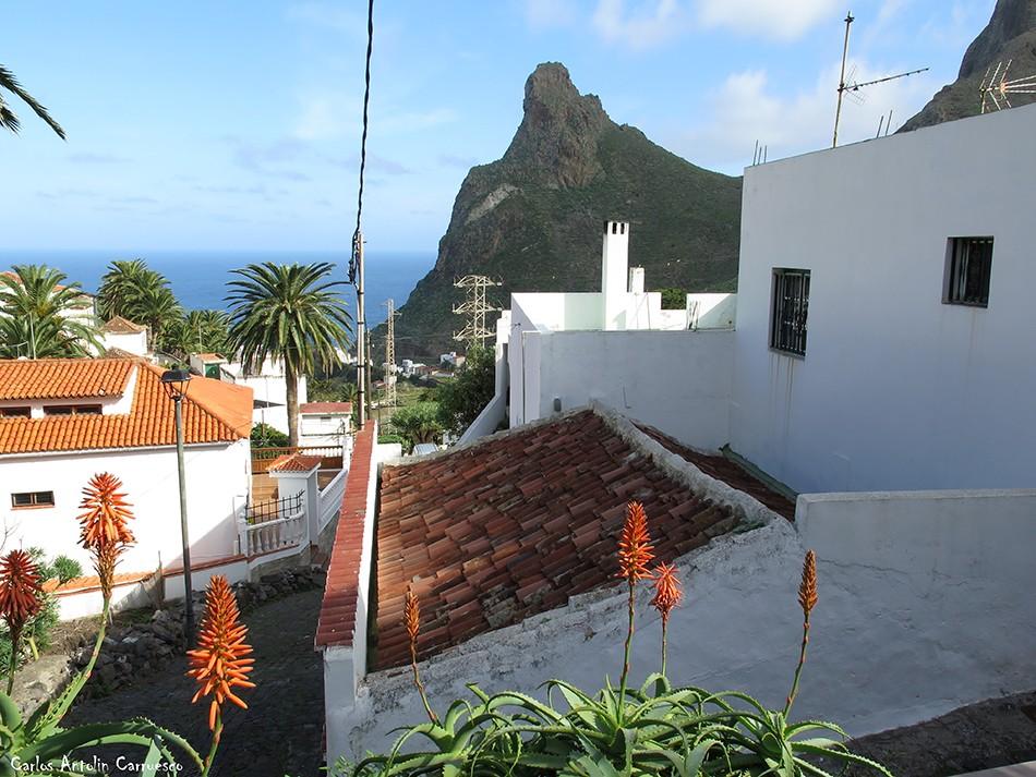 Taganana - Anaga - Tenerife - Roque de Las Ánimas - camino portugal