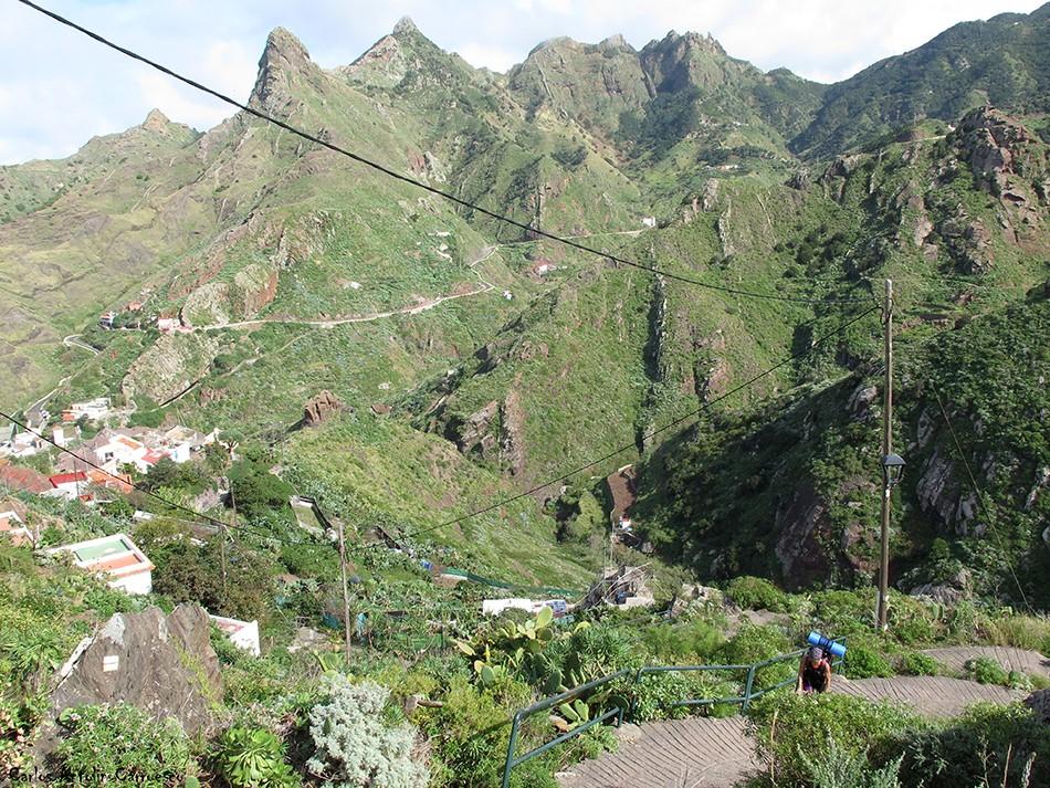 Afur - Anaga - Tenerife - el frontón
