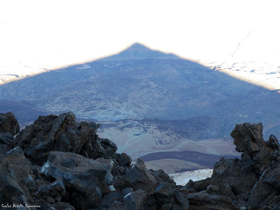 Teide - La Rambleta - Tenerife - sombra del teide