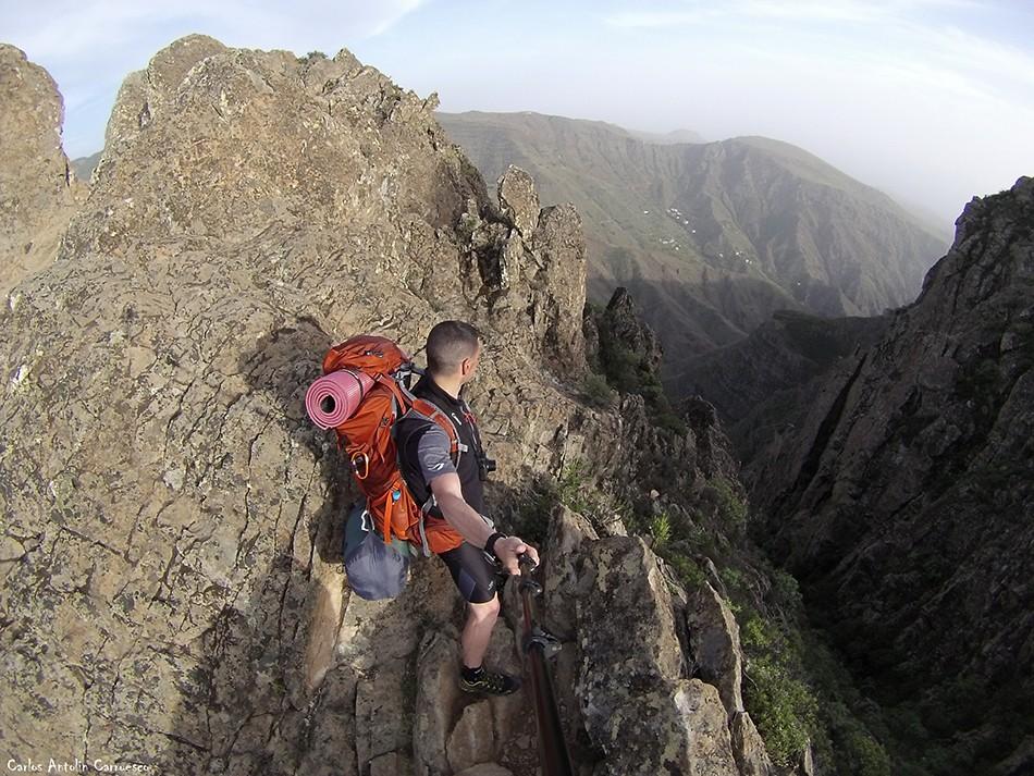 La Fortaleza de Chipude - Argodey - La Gomera - erque