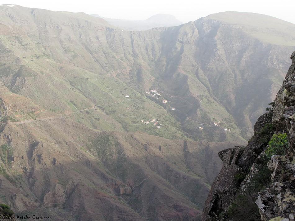 Barranco de Erque - La Fortaleza - La Gomera