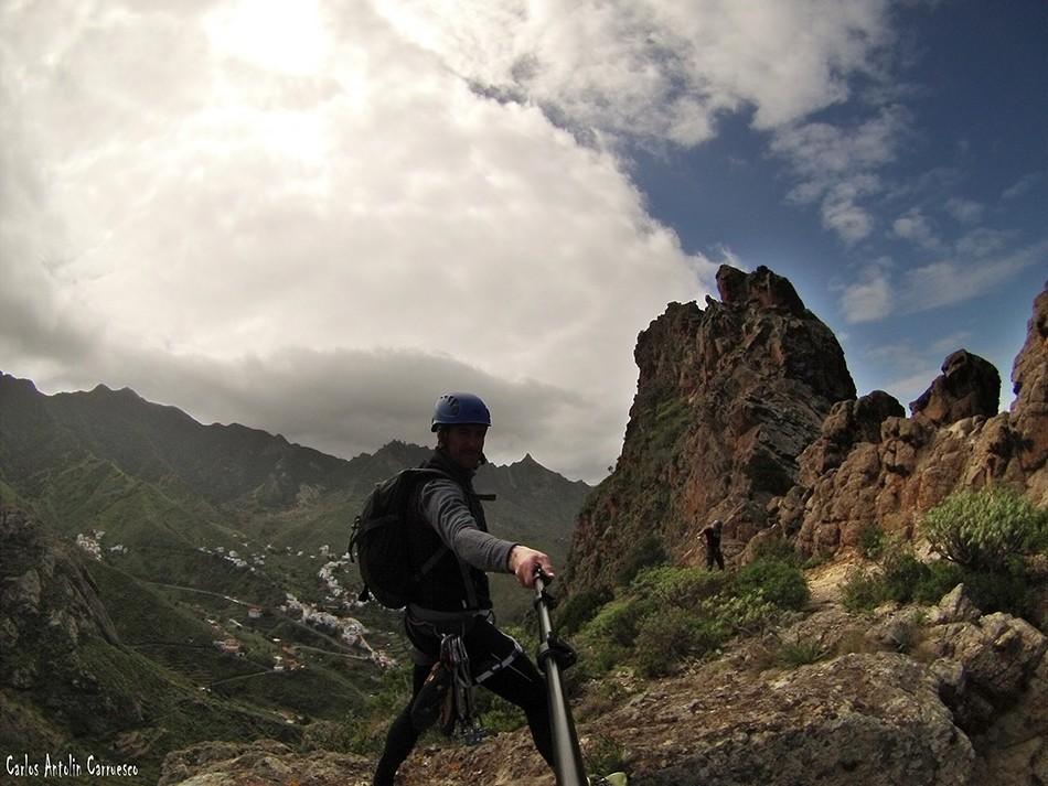 Roque de Las Ánimas - Taganana - Tenerife - Reserva Mundial de la Biosfera