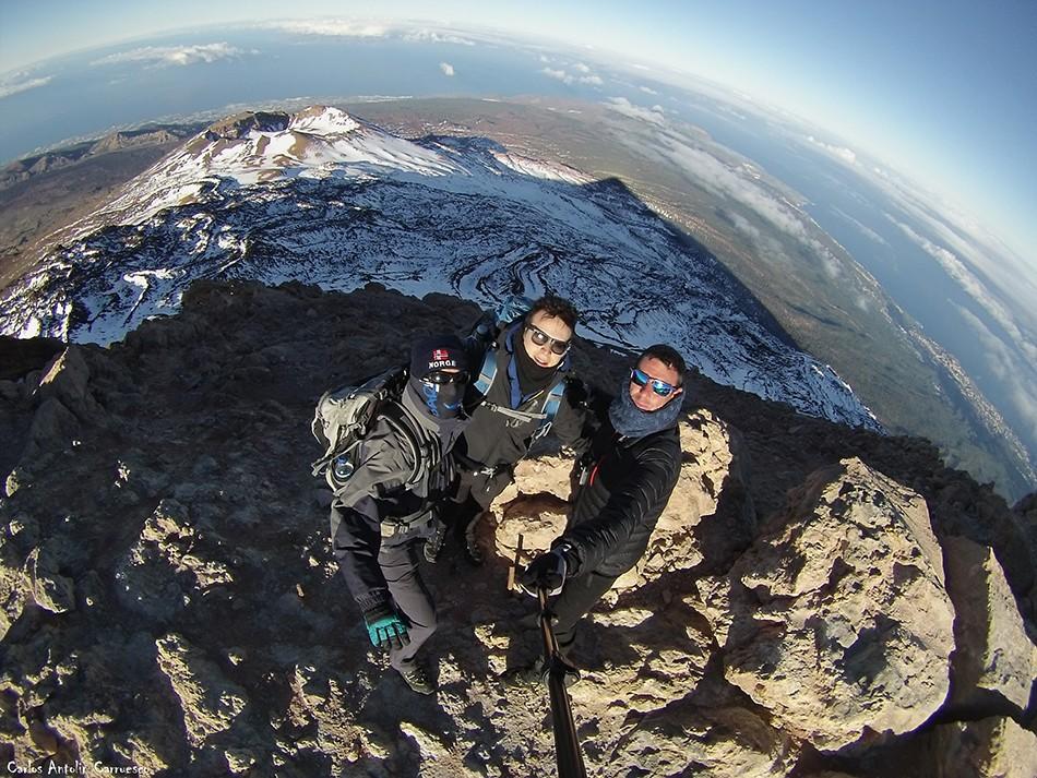 3.718 metros de altitud - Teide - Tenerife - pico viejo