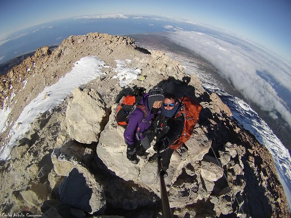 3.718 metros de altitud - Techo de España - Pico del Teide - tenerife