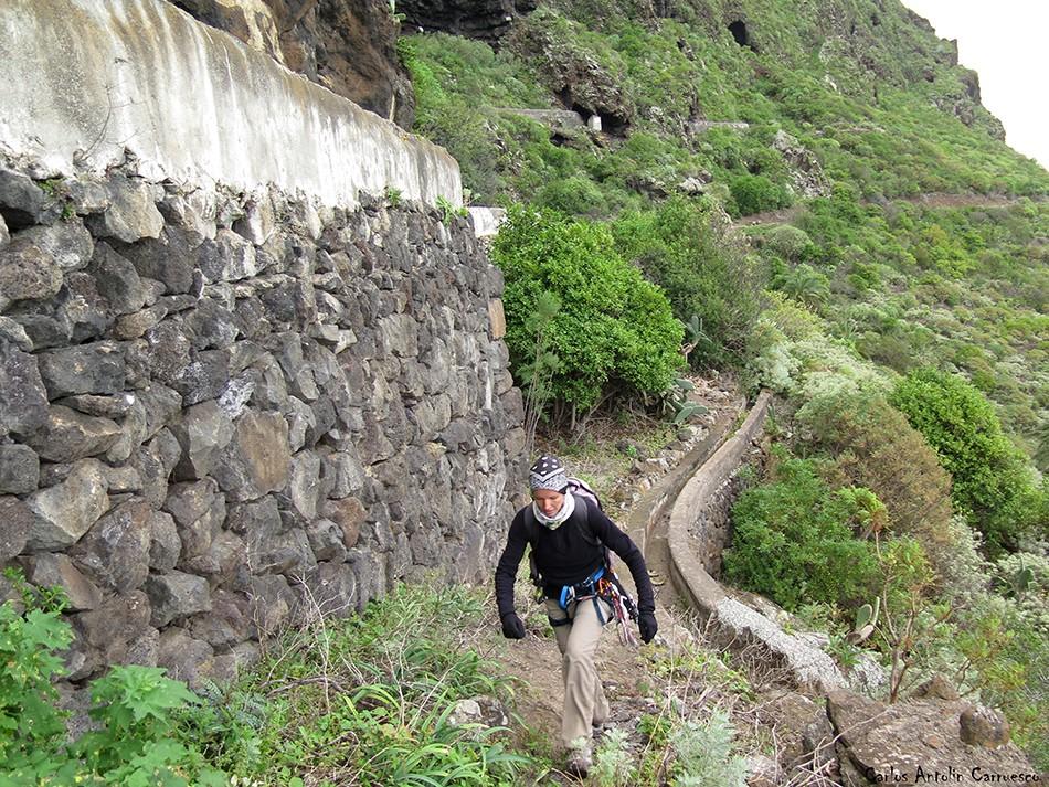 La Fuga de Espinosa - Barranco de Correa - Los Silos - tenerife
