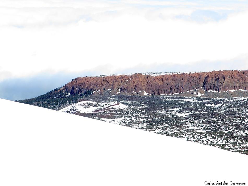 Montaña Blanca - Teide - Tenerife - la fortaleza