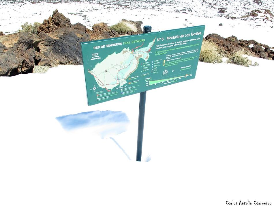 Montaña de Los Tomillos - Teide - Tenerife