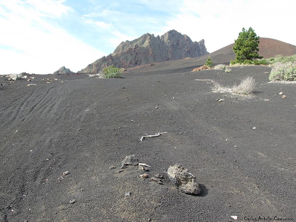 Montaña de Las Arenas - Caldera de Pedro Gil - Tenerife - pico del valle - cho marcial