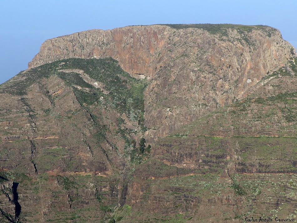 Argodey - La Fortaleza - Chipude - La Gomera - Mirador de Igualero