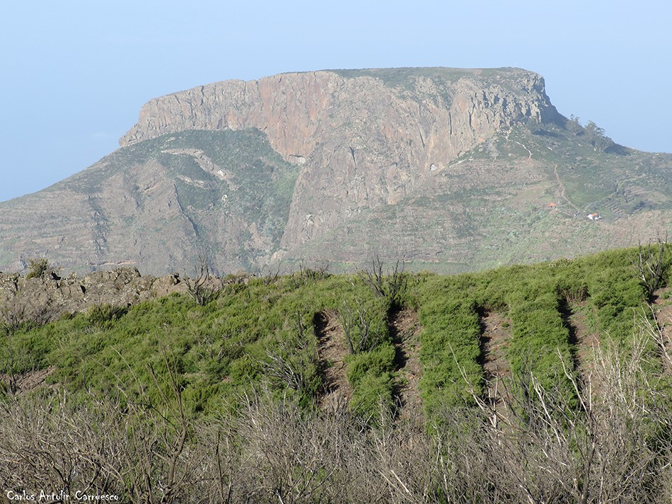 Argodey - Parque Nacional de Garajonay - La Gomera - La Fortaleza de Chipude