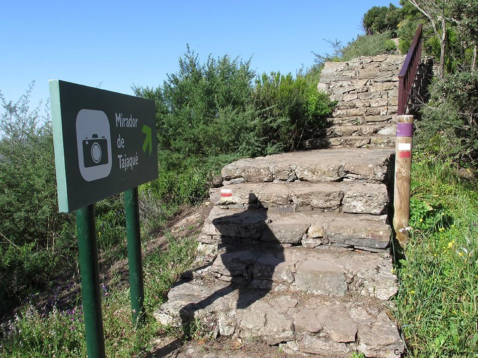 GR131 - Parque Nacional de Garajonay - La Gomera - Mirador de Tajaqué