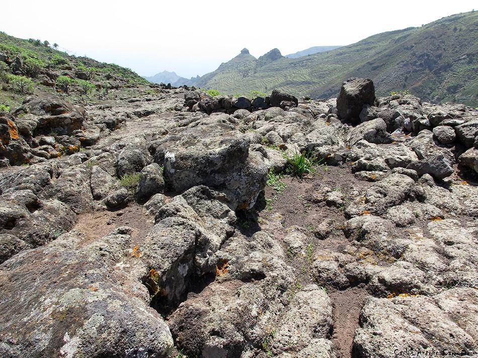 Roque El Sombrero - GR131 - La Gomera