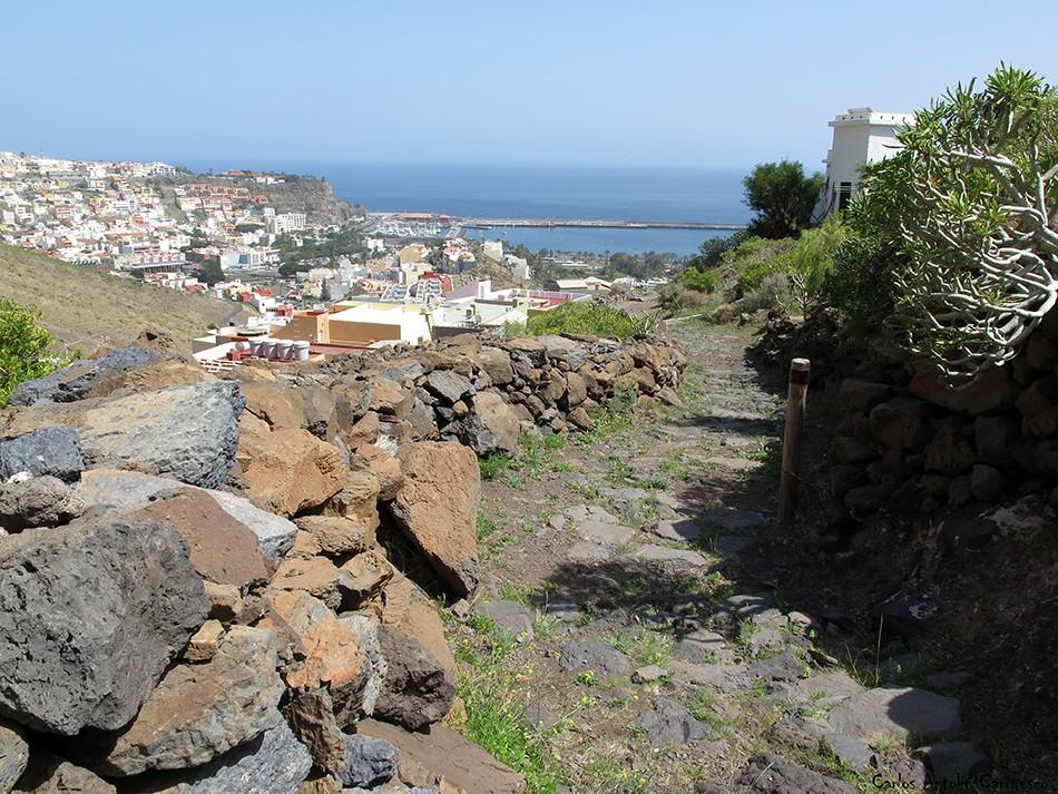 San Sebastián de La Gomera - GR131 - La Gomera