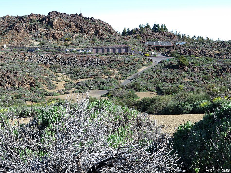 Siete Cañadas - Teide - Tenerife - Centro de Visitantes de El Portillo