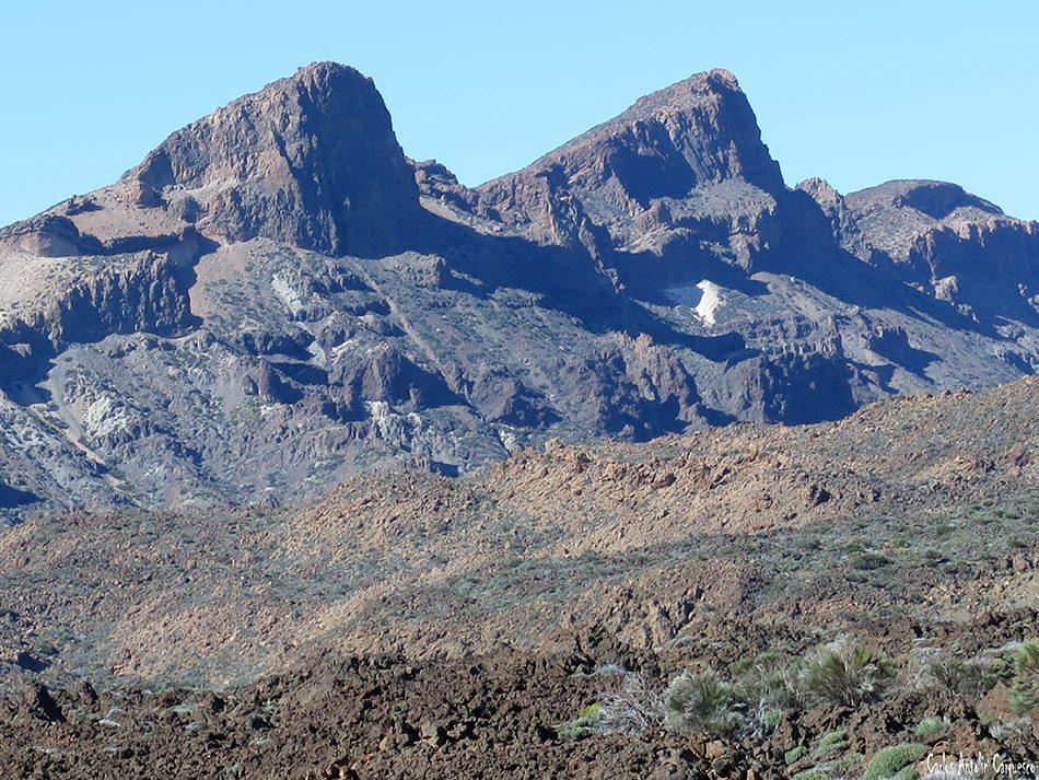 Siete Cañadas - Teide - Tenerife - circo del teide - el filo