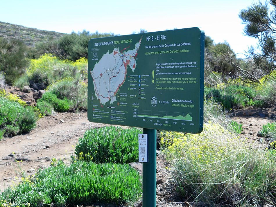 El Filo - Teide - Izaña - Tenerife