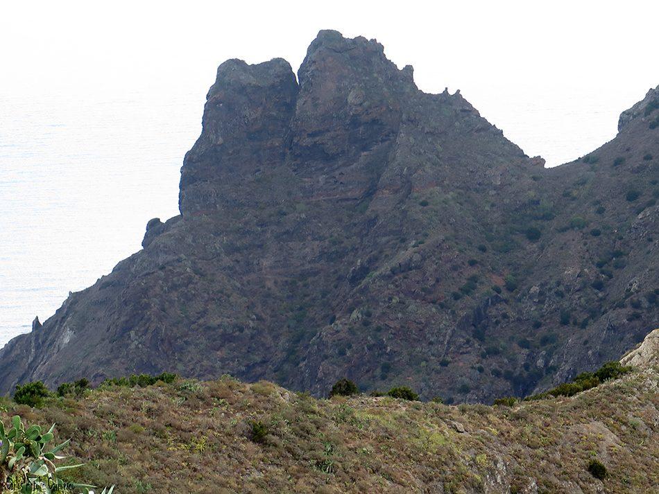 Roque de Marrubio - Anaga - Tenerife - el marrubio