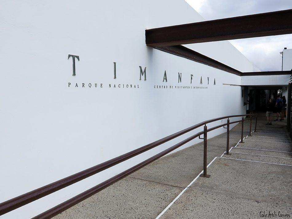 Centro de Visitantes e Interpretación de Timanfaya - Lanzarote