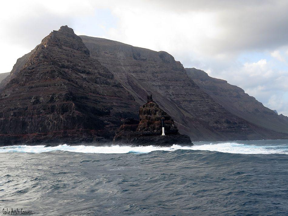 Punta Fariones - Lanzarote - Famara - Líneas Marítimas Romero