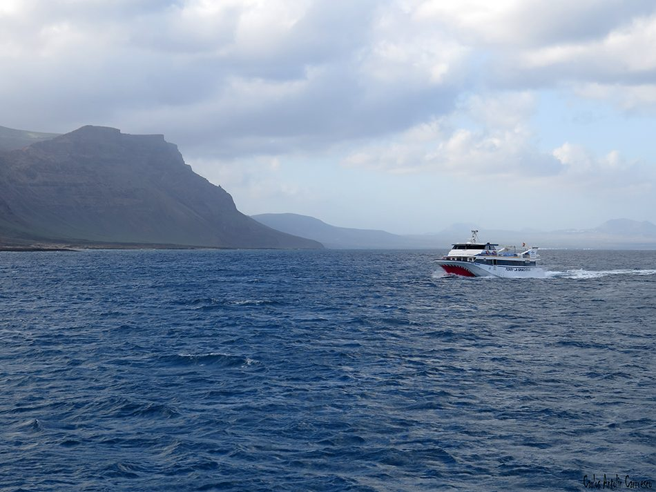 Isla de La Graciosa - Lanzarote - Líneas Marítimas Romero