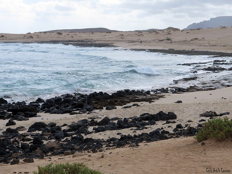Isla de La Graciosa - Playa Lambra - Lanzarote