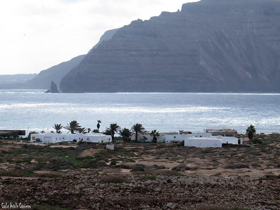 Isla de La Graciosa - Pedro Barba - Lanzarote - Acantilados de Famara - Punta Fariones