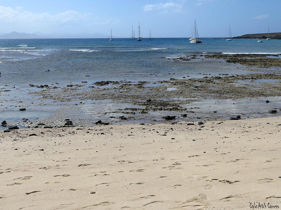 Isla de La Graciosa - Montaña Amarilla - Lanzarote - Playa Francesa
