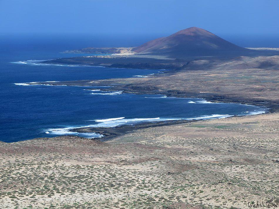 Isla de La Graciosa - Montaña Bermeja - Lanzarote