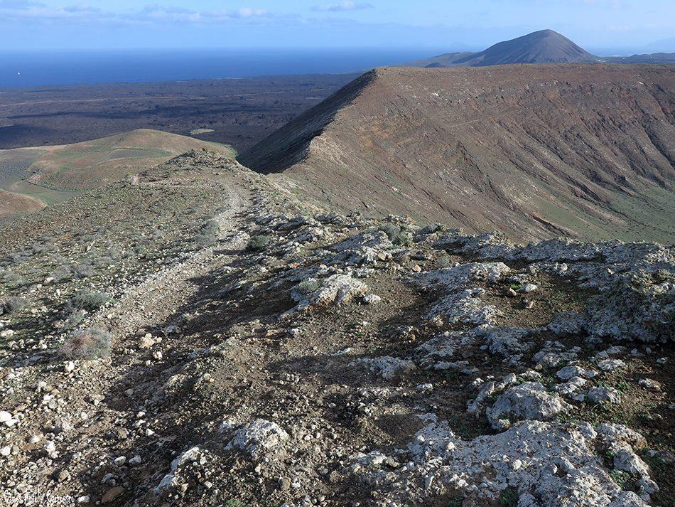 La Caldereta - Caldera de Montaña Blanca - Lanzarote - Parque Nacional de Timanfaya