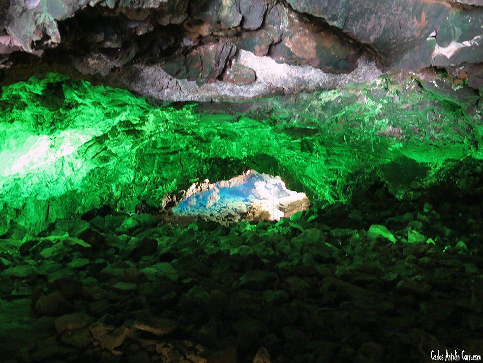 Jameos del Agua - César Manrique - Lanzarote - túnel de la atlántida