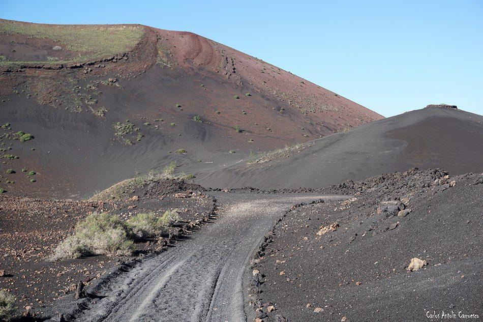 Ruta Termesana - Timanfaya - Lanzarote - montaña termesana