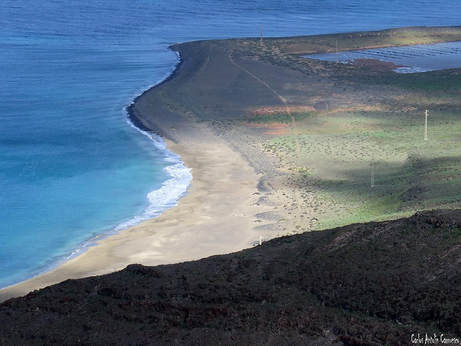 Playa del Risco - Risco de Famara - Lanzarote