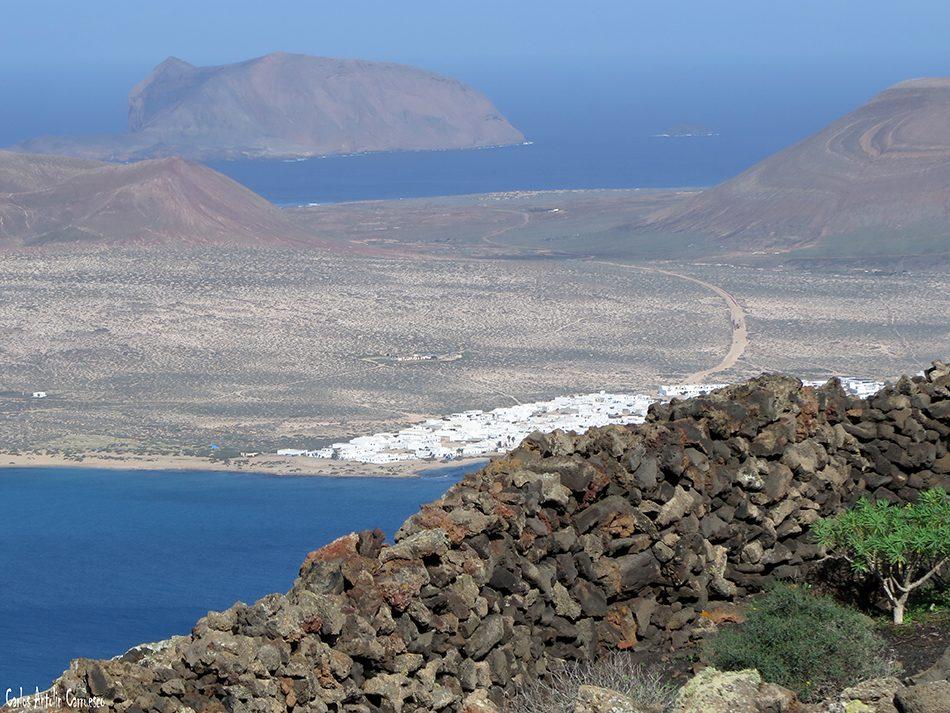 Playa del Risco - La Graciosa - Lanzarote - Montaña Clara